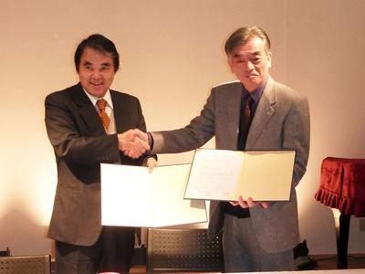 十字屋グループとAMDAとの連携協力に関する協定書締結