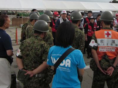 徳島県総合防災訓練 参加報告