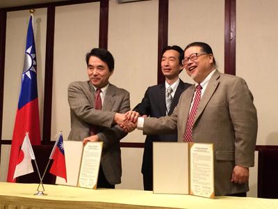 台湾ルーツと協力協定を締結
