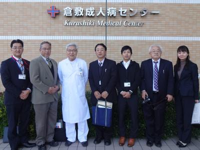 南海トラフ災害に向けて徳島県牟岐町職員が医療機関を訪問