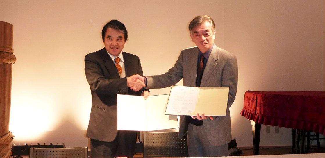 十字屋グループとAMDAとの連携協力締結