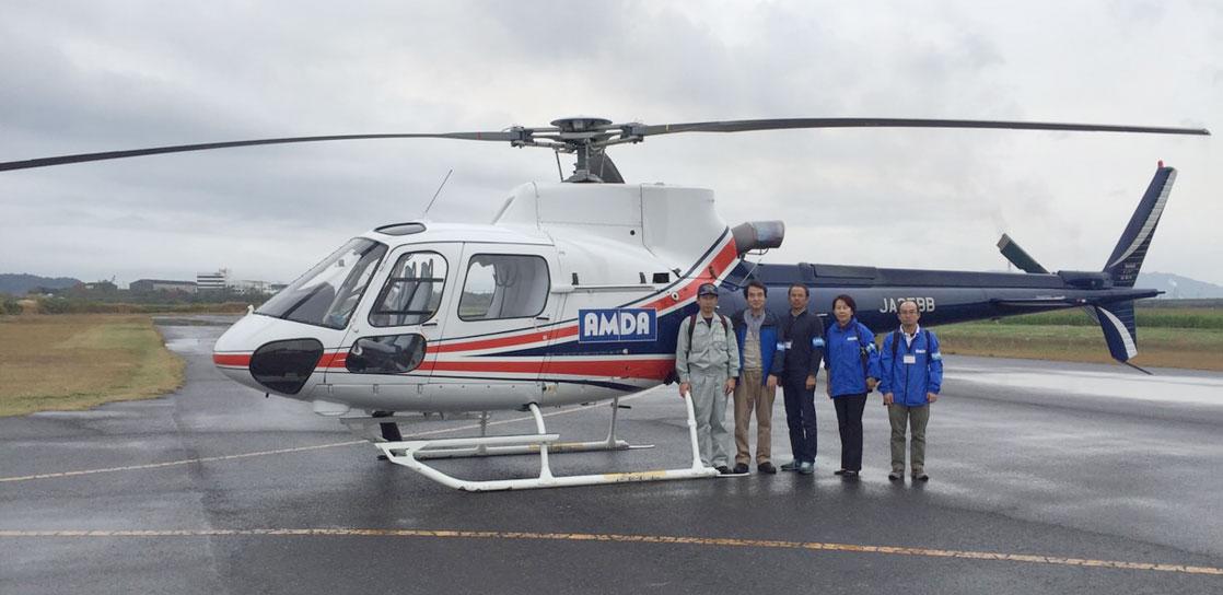 AMDA南海トラフ地震対応プラットフォーム 輸送と通信のシミュレーションを実施