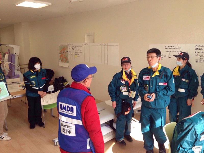 四国DMAT実動訓練(徳島県)へ参加